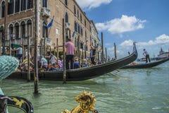 I Venedig Arkivbild