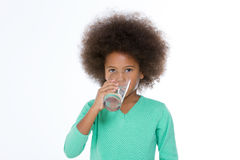 I am very thirsty Royalty Free Stock Photography