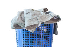 I vestiti non sono lavati Fotografie Stock