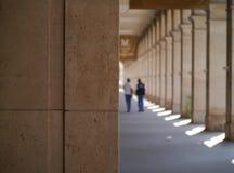 I vicoli erano silenziosi a Parigi Immagine Stock Libera da Diritti