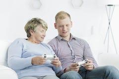 I video giochi sono per ognuno Fotografia Stock Libera da Diritti