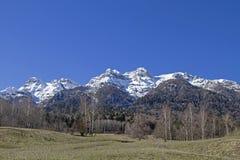 I Vigolana berg i Trentino Arkivbilder