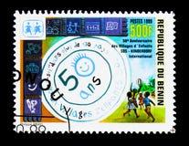 I villaggi dei bambini, cinquantesimo Se dei villaggi dei bambini di anniversario SOS Fotografia Stock