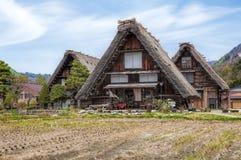 I villaggi storici di Shirakawago Immagine Stock Libera da Diritti