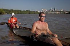 I vincitori della corsa 2010 del fiume di Missouri 340 Immagini Stock