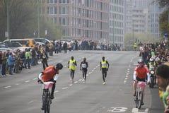 I vincitori di Berlino Halfmarathon 2009 Fotografia Stock Libera da Diritti