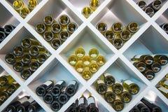 I vini di legno accantonano Fotografie Stock Libere da Diritti