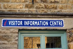 I visitor information center sign Royalty Free Stock Photos