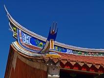 I volare-eaves del Temp ufficiale di Tainan Mazu Fotografia Stock