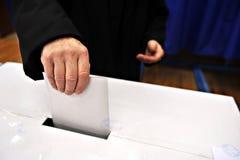 I vostri conteggi di voto Immagini Stock