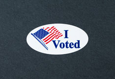 I Voted Royalty Free Stock Photography