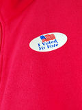 I voted sticker3 Stock Photography