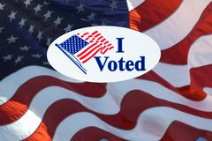 I Voted Royalty Free Stock Photos