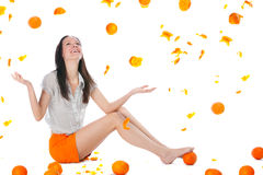 I wanna Orange Fresh! Stock Photos