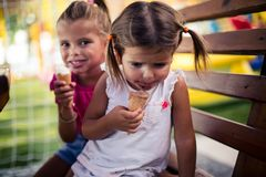 I want another ice cream. stock photography