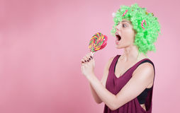 I want candies Royalty Free Stock Photos