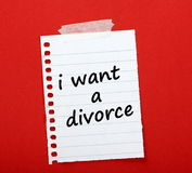 I Want A Divorce Royalty Free Stock Photo