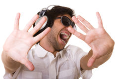 I want my music Royalty Free Stock Photography
