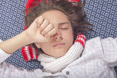 I want to sleep! Royalty Free Stock Photo