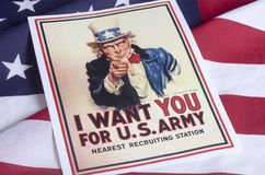 I want you - Uncle Sam Royalty Free Stock Photos