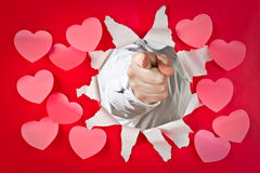 I want you, Valentine Stock Photography