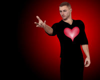 I Want Your Heart Royalty Free Stock Images