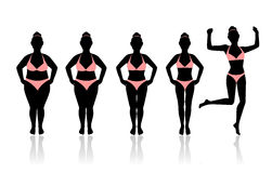 Free I Was Able To Lose Weight Stock Photography - 62132532