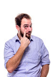 I am watching you Stock Photography