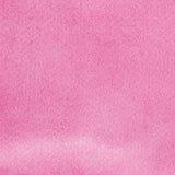 I watercolours fatti a mano naturali rosa dell'acquerello dipingono il modello di struttura, primo piano strutturato orizzontale  Immagine Stock Libera da Diritti