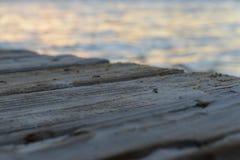 Dock in Cancun ocean royalty free stock photos