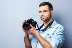 I will be a great shot. Royalty Free Stock Photo