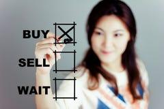 I will buy it. Stock Photo