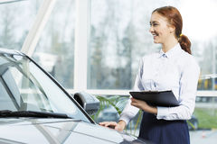 I will help you to choose car Royalty Free Stock Photo