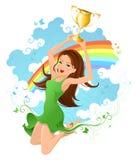 I win! Stock Image