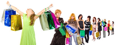 I am the winner customer Stock Photo