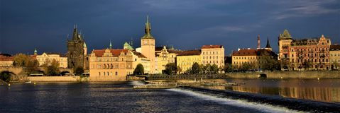 View of Prague stock image