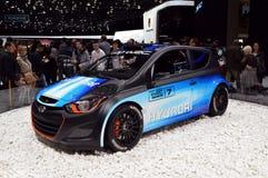 现代i20 WRC 免版税库存图片