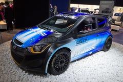 现代i20 WRC 免版税图库摄影