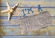 I'm A Beach Stock Image