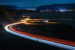 I-90 Zachodni W kierunku Korzystnego Waszyngton zdjęcie royalty free