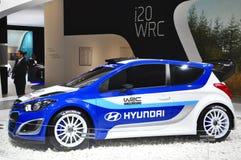 I20 WRC Hyundai Royalty Free Stock Photos