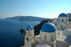 Ia Santorini Stockbilder
