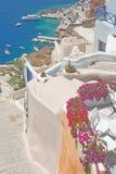 Ia, Santorini, Grèce. Images stock