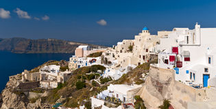 Ia, Santorini island royalty free stock photography