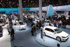 IAA汽车汽车展示会访客 免版税图库摄影
