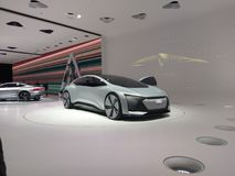 Futuristic Audi concept Royalty Free Stock Images