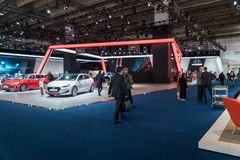 Iaa 2017. Frankfurt am Main autoshow Royalty Free Stock Photos