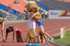 8. IAAF-Weltjugend-Meisterschaften Stockbild
