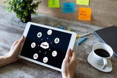 Iaas - infrastruktur som en service Internet- och teknologibegrepp på skärmen arkivfoton
