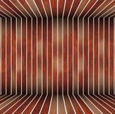 Iabstractachtergrond van bruine houten raad wordt gemaakt die Stock Foto's